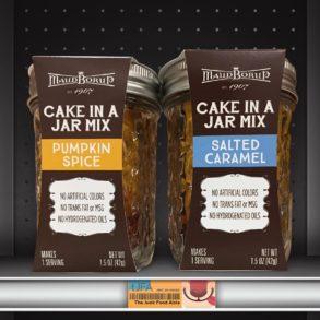 Pumpkin Spice & Salted Caramel Cake In A Jar Mix
