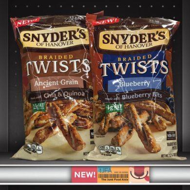 Snyder's Braided Twists Ancient Grain & Blueberry Pretzels
