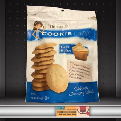 Thinster's Cake Batter Cookie Thins