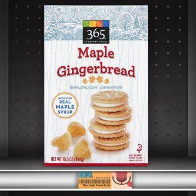 365 Maple Gingerbread Sandwich Cookies