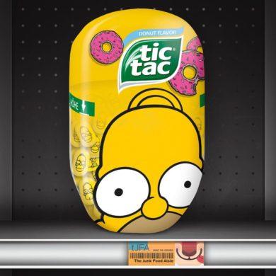 Donut Flavor Simpsons Tic Tacs