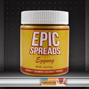 Epic Spreads Eggnog Peanut Cashew Coconut Spread