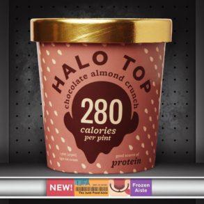 Halo Top Chocolate Almond Crunch Ice Cream
