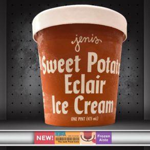 Jeni's Sweet Potato Eclair Ice Cream