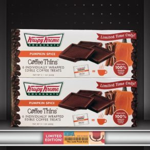 Krispy Kreme Doughnuts Pumpkin Spice Coffee Thins