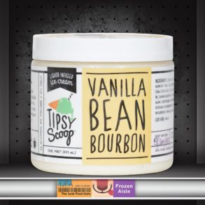 Tipsy Scoop Vanilla Bean Bourbon Liquor-Infused Ice Cream