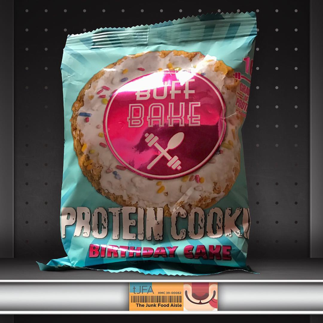 Buff Bake Birthday Cake Protein Cookie