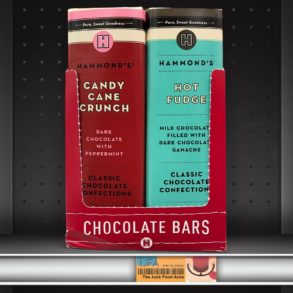 Hammond's Candy Cane Crunch & Hot Fudge Chocolate Bars