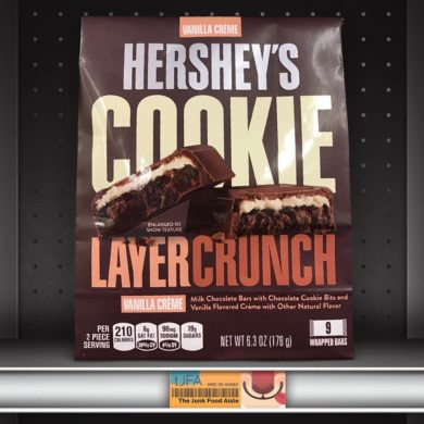 Hershey's Vanilla Crème Cookie Layer Crunch