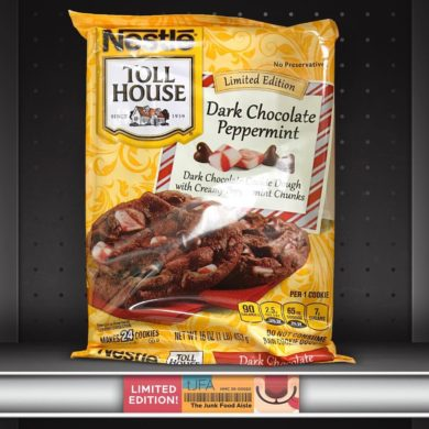 Nestle Toll House Dark Chocolate Peppermint Cookies