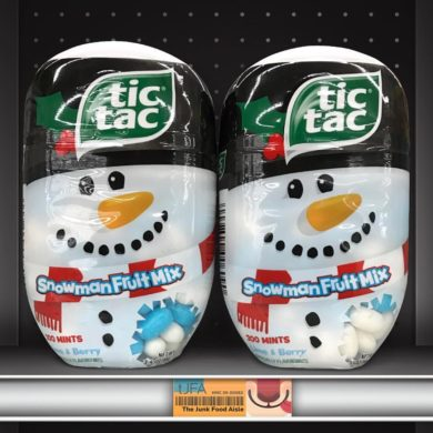 Tic Tac Snowman Fruit Mix