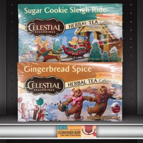 Celestial Seasonings Sugar Cookie Sleigh Ride & Gingerbread Spice Herbal Teas