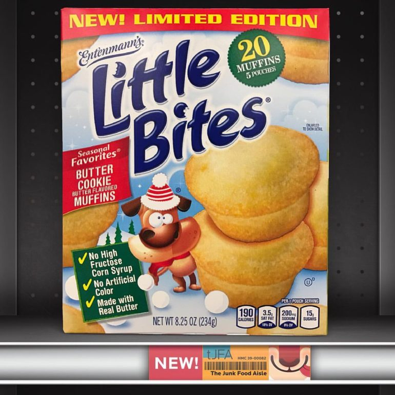 Entenmann's Little Bites Butter Cookie Muffins