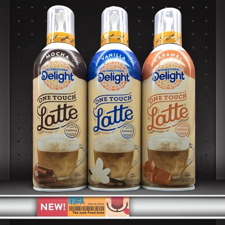 International Delight One Touch Latte Frothing Coffee Creame