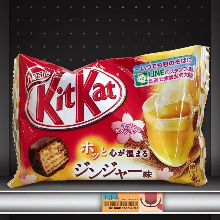Kit Kat Ginger