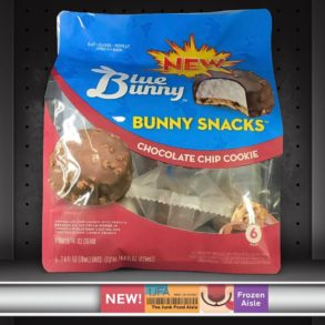 Blue Bunny Ice Cream Bunny Snacks: Chocolate Chip Cookie