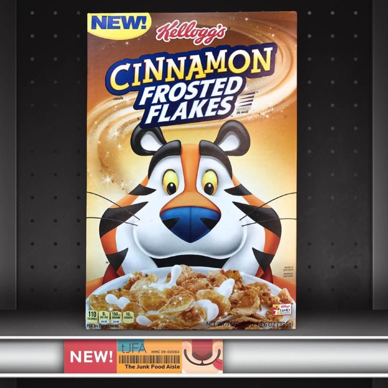 Cinnamon Frosted Flakes