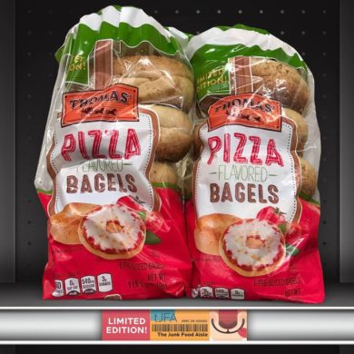 Thomas' Pizza Flavored Bagels
