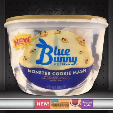 Blue Bunny Monster Cookie Mash Ice Cream