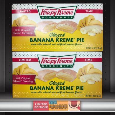 Krispy Kreme Doughnuts Glazed Banana Kreme Pie