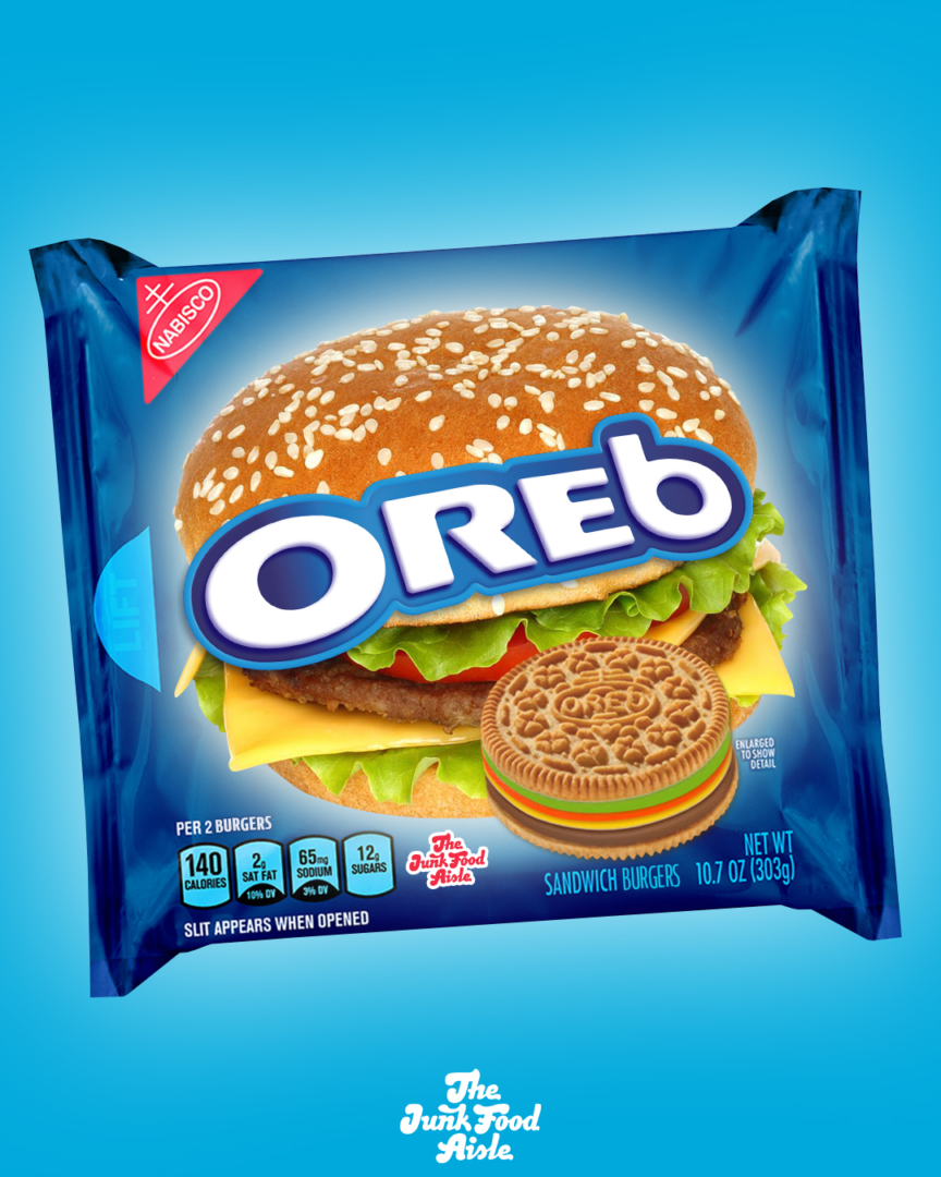 Oreo Changes Name to Oreb In New Mockup After IHOP Changes Name To IHOb To Promote Burgers