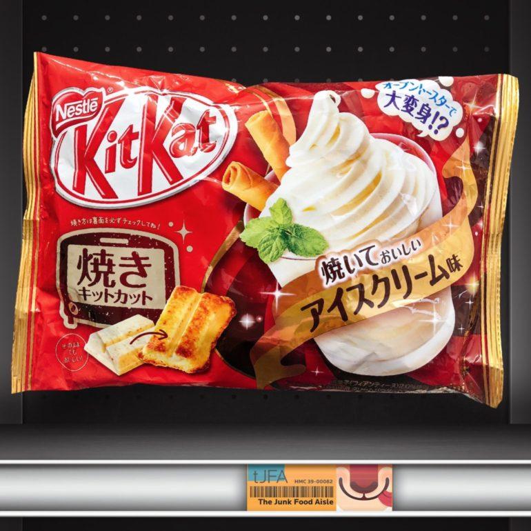 Baked Ice Cream Kit Kat