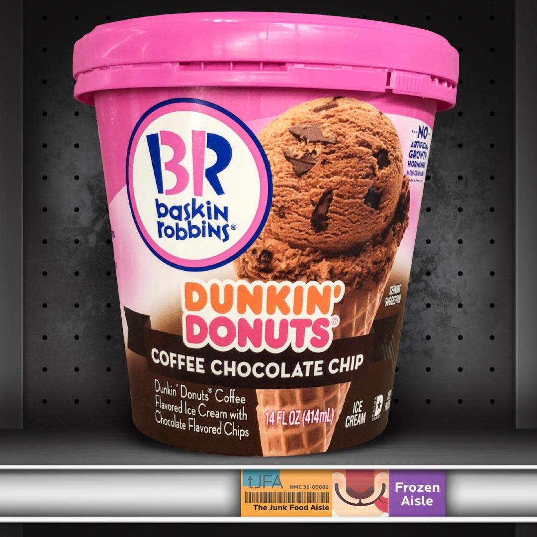 Baskin Robbins Dunkin' Donuts Coffee Chocolate Chip Ice Cream
