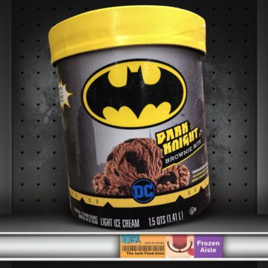 Batman Dark Knight Brownie Bite Ice Cream