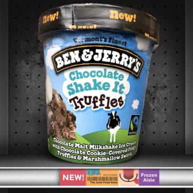 Ben & Jerry's Chocolate Shake It Truffles Ice Cream