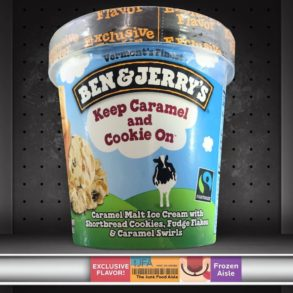 Ben & Jerry's Keep Caramel and Cookie On