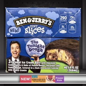 Ben & Jerry's The Tonight Dough Pint Slices