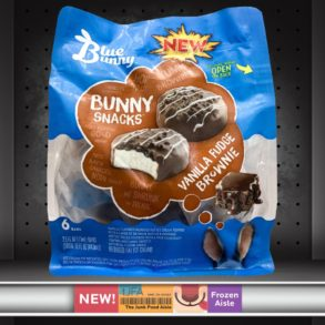 Blue Bunny Vanilla Fudge Brownie Bunny Snacks