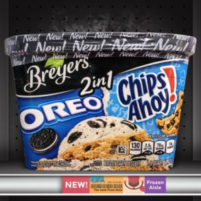 Breyers 2in1 Oreo and Chips Ahoy!