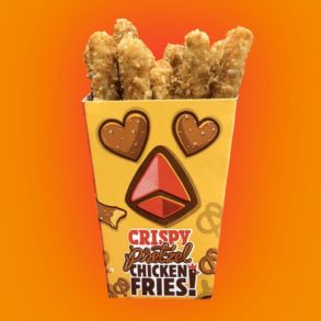 Burger King Crispy Pretzel Chicken Fries
