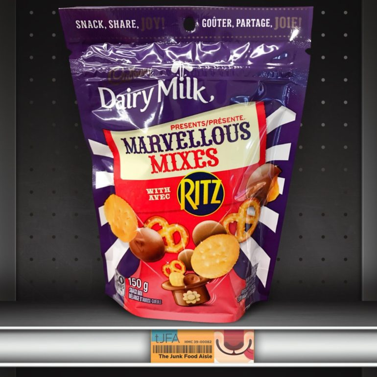 Cadbury Dairy Milk Marvellous Mixes with Ritz