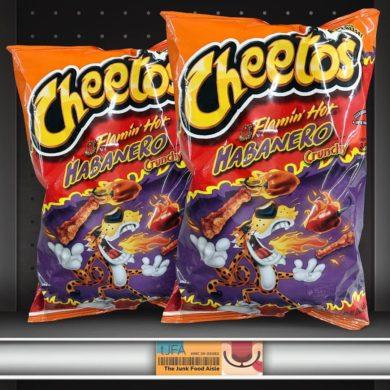 Cheetos Famin' Hot Habanero