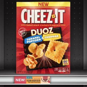 Cheez-It Duoz Caramel Popcorn & Cheddar