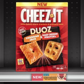 Cheez-It Duoz Cheddar Jack & Sharp Cheddar Pretzel