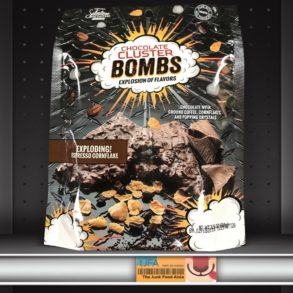 Chocolate Cluster Bombs: Exploding Espresso Cornflake