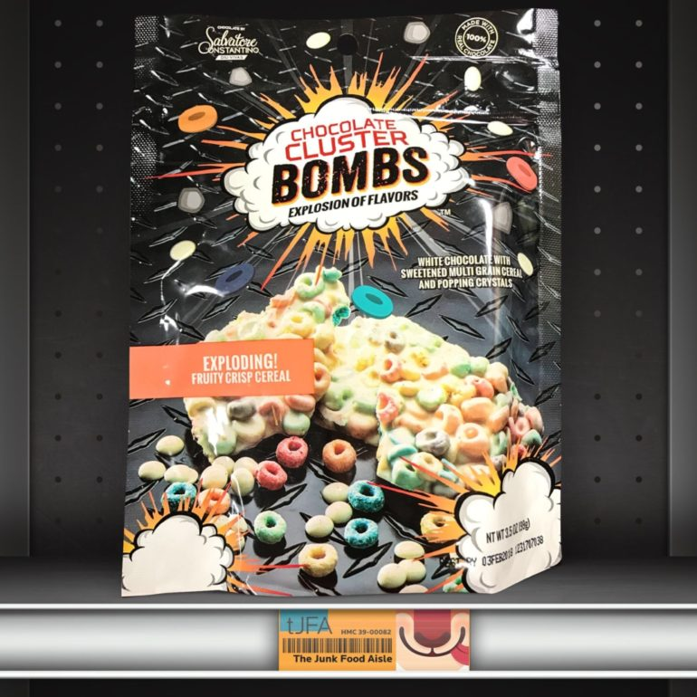 Chocolate Cluster Bombs: Exploding Fruity Crisp Cereal