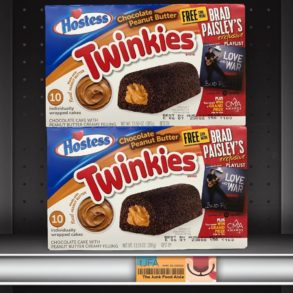 Chocolate Peanut Butter Hostess Twinkies