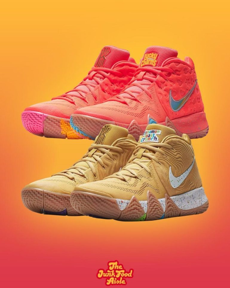 new product 846d4 1650c Coming Soon: Cereal inspired Nike Kyrie 4's! - The Junk Food ...