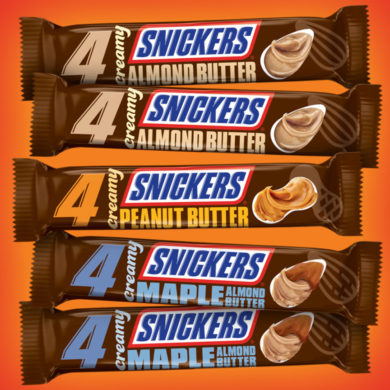 Coming Soon: Creamy Snickers
