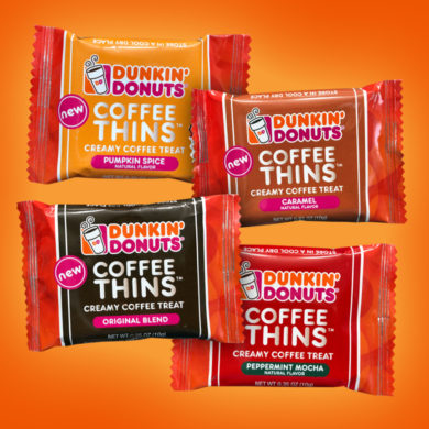Coming Soon: Dunkin' Donuts Coffee Thins