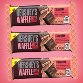 Coming Soon: Hershey's Waffle Layer Crunch Strawberry