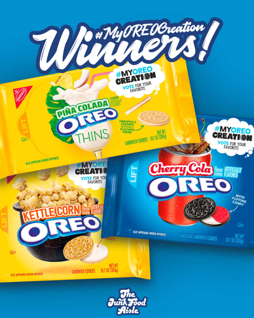 Here's How To Find The My Oreo Creation Contest Winners