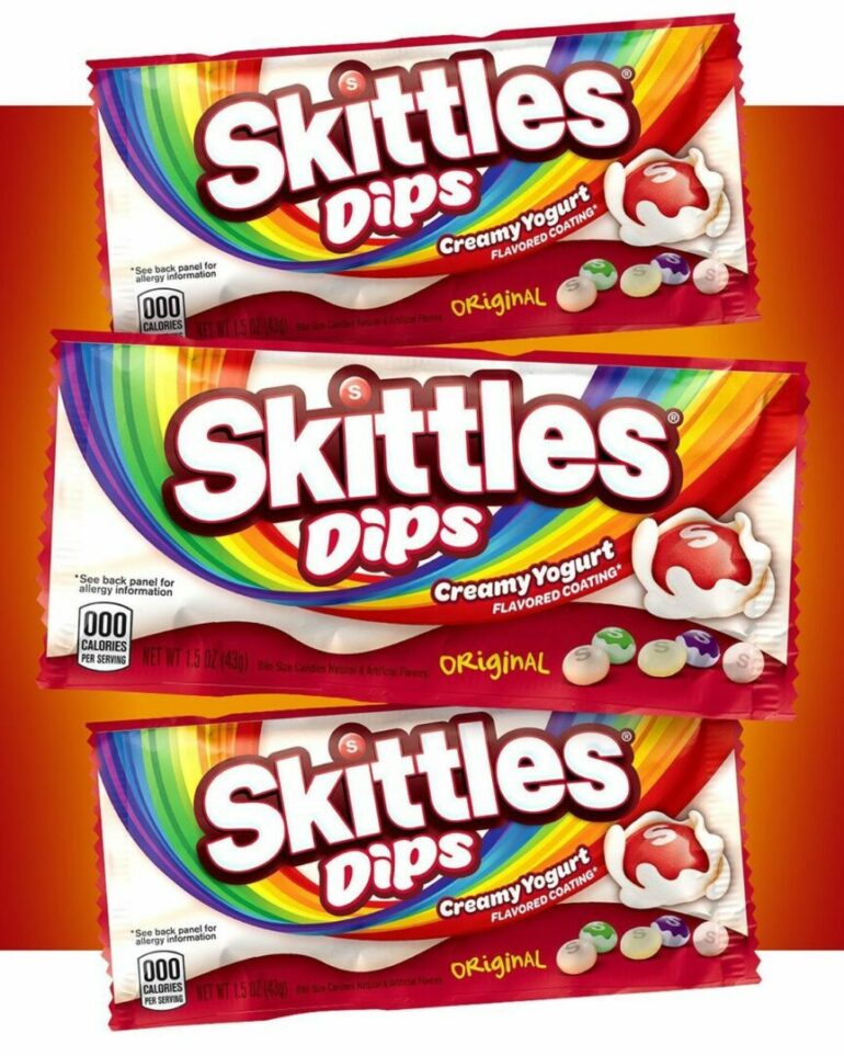 Coming Soon! Skittles Dips