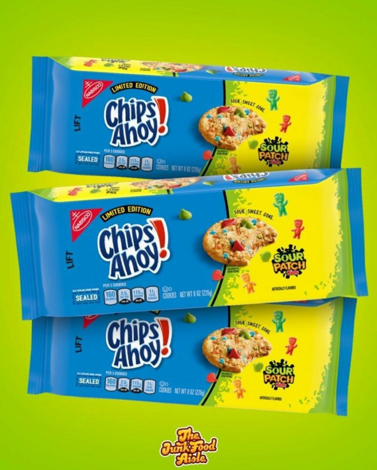 Coming Soon! Sour Patch Kids Chips Ahoy Cookies!