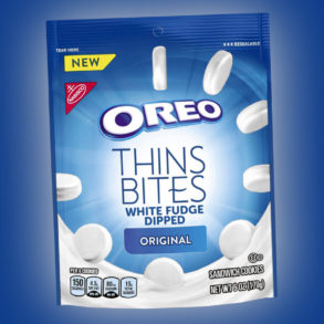 Coming Soon: White Fudge Dipped Oreo Thins Bites