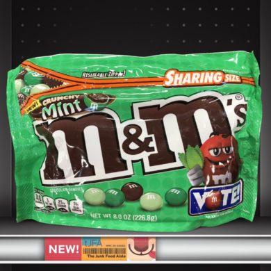 Crunchy Mint M&M's